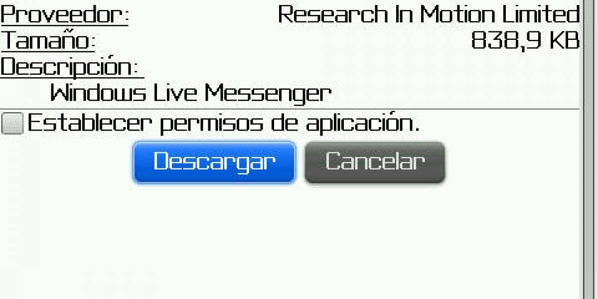 RIM actualiza los clientes de mensajería para BlackBerry