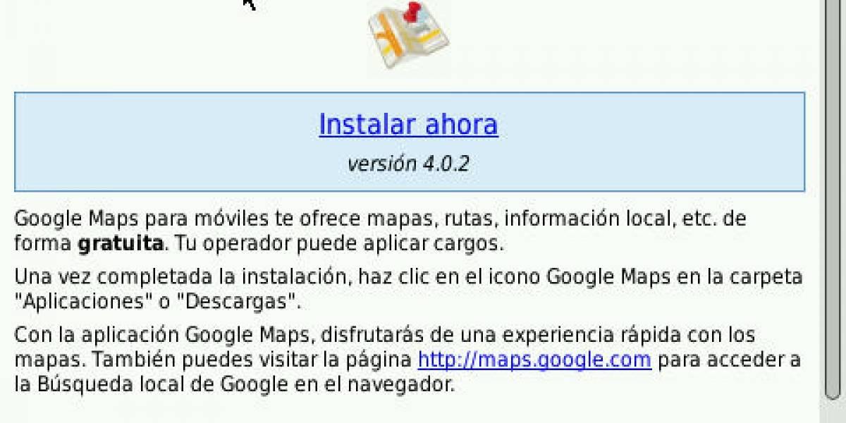 Google actualiza Mobile App y G Maps para BlackBerry