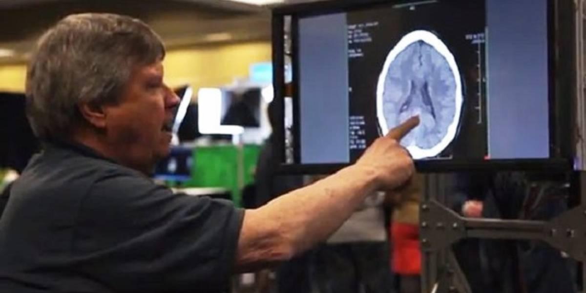 Microsoft muestra una pantalla que transmite la sensación de tacto