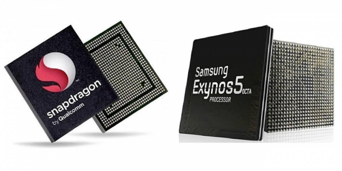 Benchmark del Galaxy S4, mostraría la supremacía del procesador Exynos sobre el Snapdragon 600
