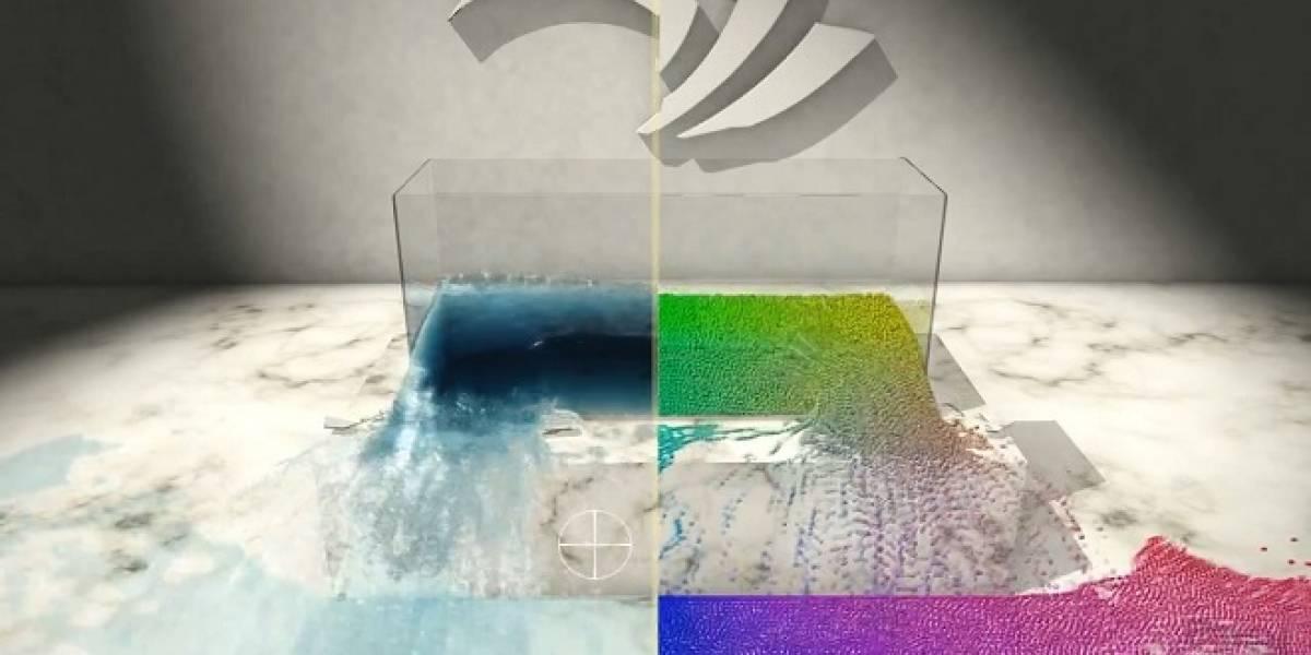 Nvidia brinda algunos alcances sobre su nueva tecnología de simulación de fluidos PBD