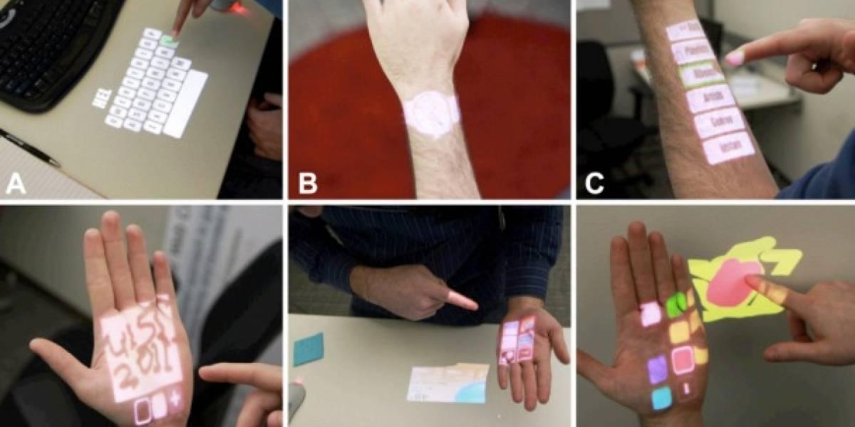 Tecnología del MIT convierte cualquier superficie en interfaz de usuario