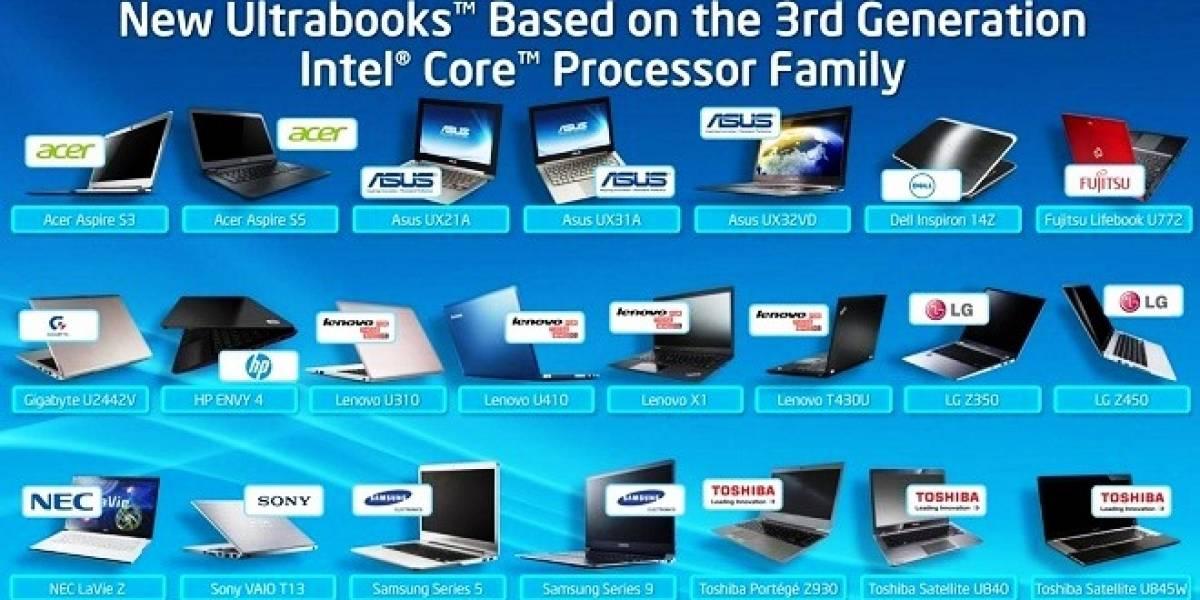Intel lanza campaña para promover los ultrabooks potenciados con sus chips
