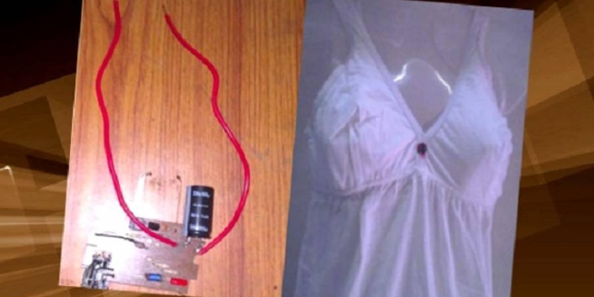 Estudiantes de ingeniería inventan ropa interior anti violación en la India