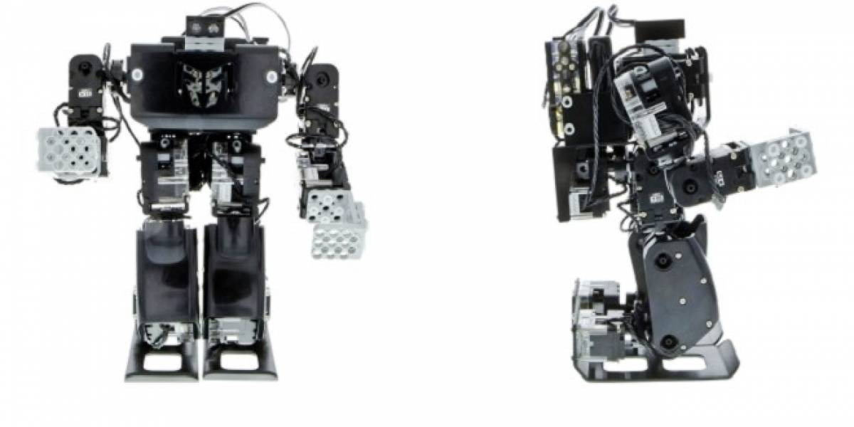 RQ-HUNO Robobuilder: El robot atleta
