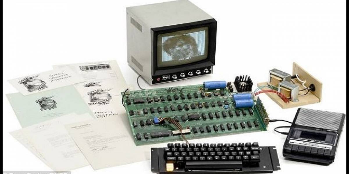 Una computadora Apple I, con la firma de Steve Wozniak, será subastada
