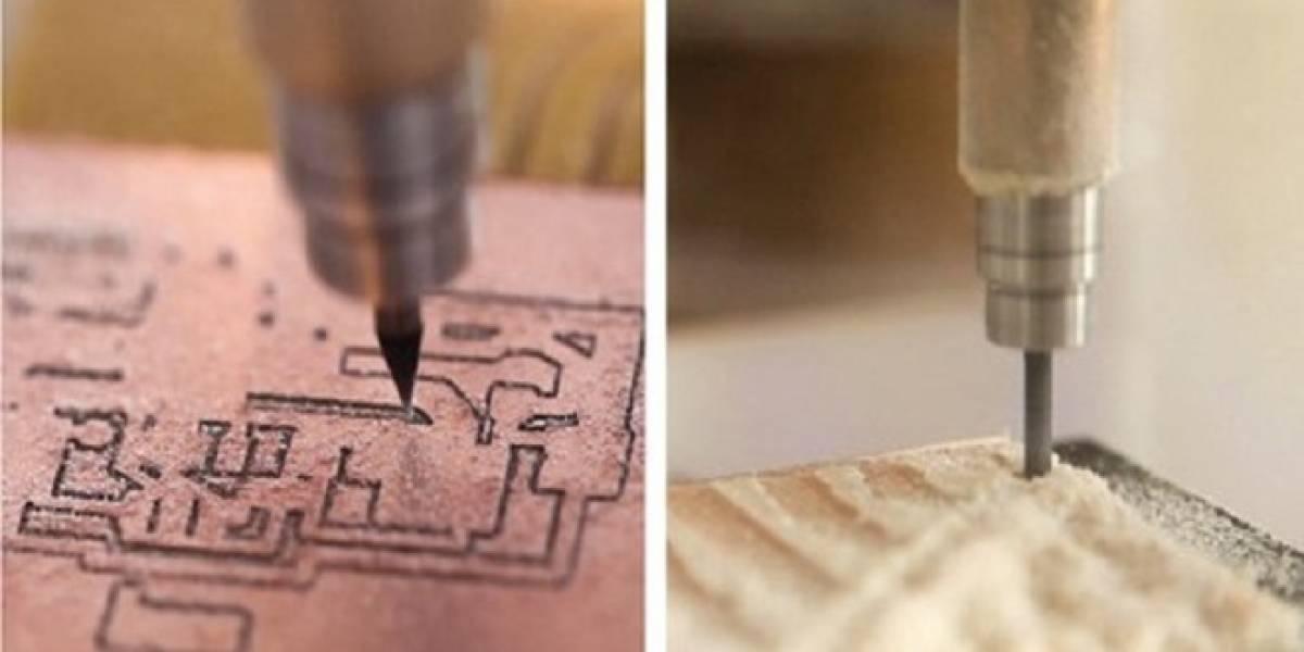 Othermill: La impresora 3D doméstica para imprimir placas de circuitos electrónicos