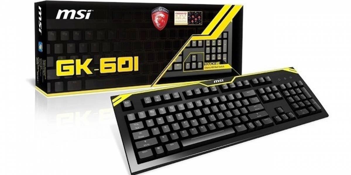 MSI lanza su primer teclado para gamers