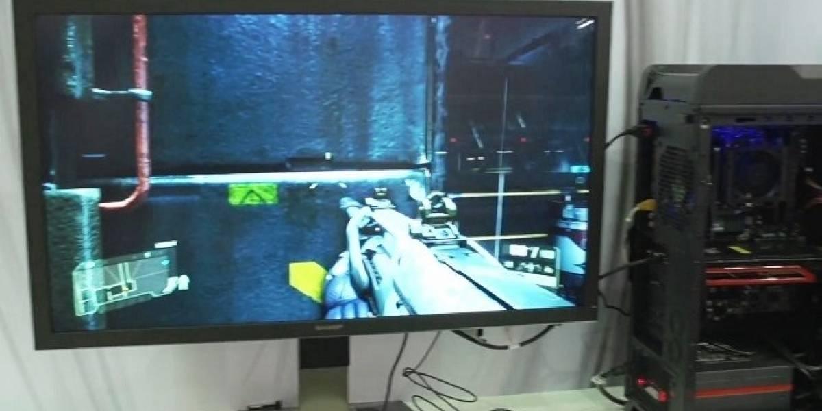 Ultimo día del Computex, última demostración de AMD: Crysis 3 en un monitor 4K, #CTX2013