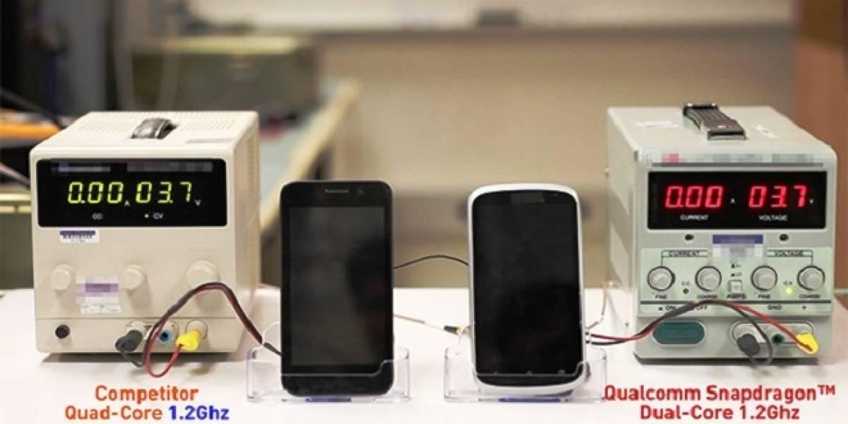 Qualcomm hace gala de la eficiencia energética de su SoC Snapdragon 400