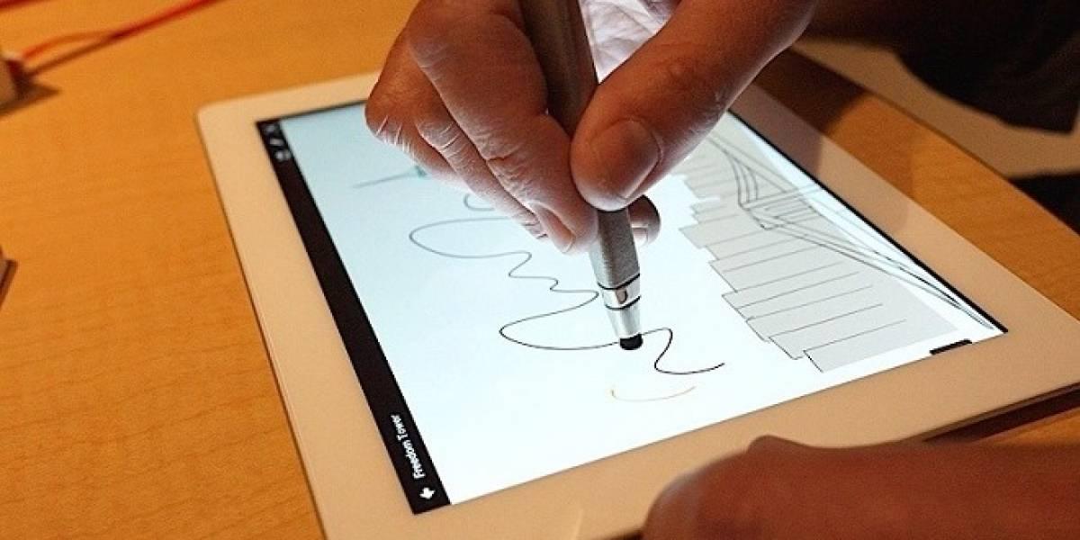 Adobe hace nueva demostración de su pluma y regla digitales para dibujo en tablets