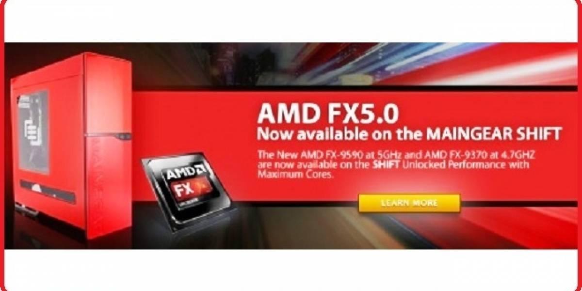 MAINGEAR será el primero en lanzar una PC con el nuevo chip AMD FX-9590, #E3