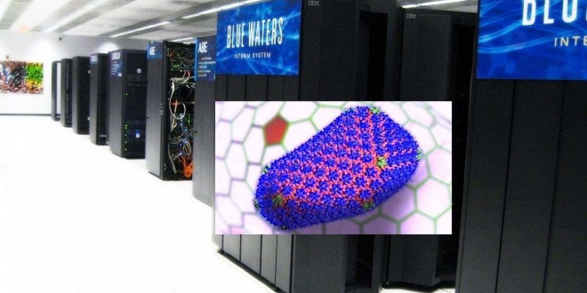 Supercomputador Blue Waters ayuda en la batalla contra el virus HIV