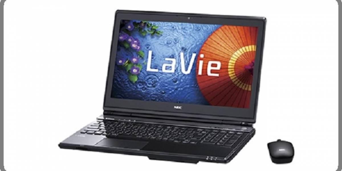 NEC lanza su laptop con procesador Intel de cuarta generación