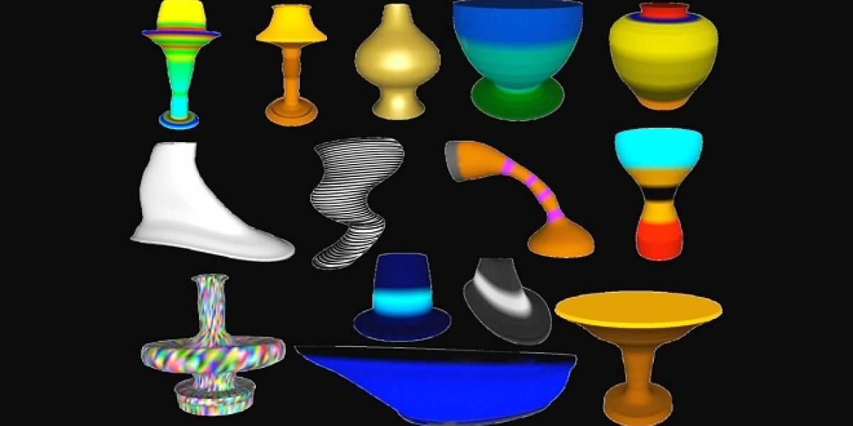 Cámara especial permite realizar esculturas virtuales en 3D con gestos de las manos