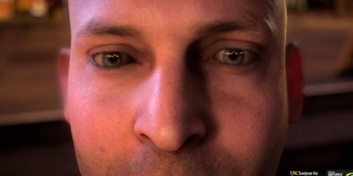 NVIDIA publica la demo realista del rostro humano mostrada en el GDC 2013