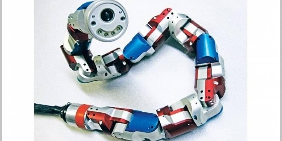 Conoce a Uncle Sam: El robot serpiente de búsqueda y rescate