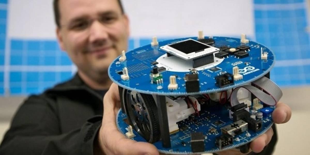 Arduino lanza su primer kit robot completo
