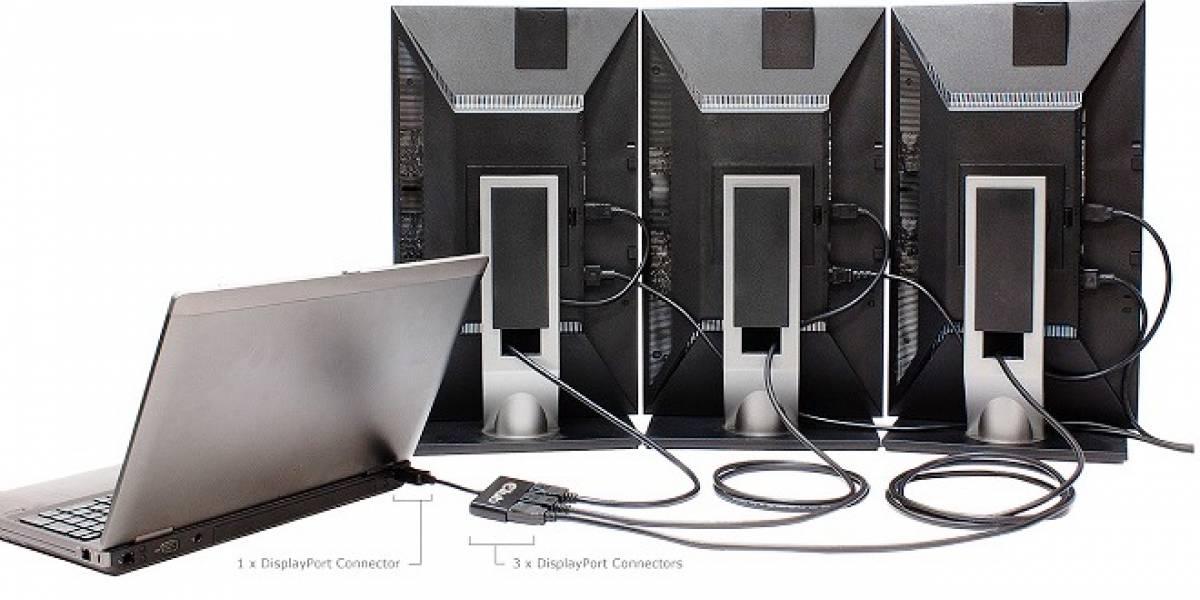 Club3D lanza su Hub MST que permite conectar la PC a 3 monitores