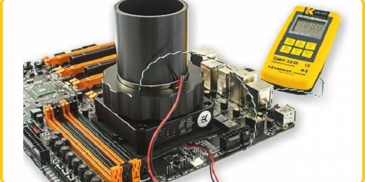 Lanzan un cooler para CPU basado en nitrógeno líquido