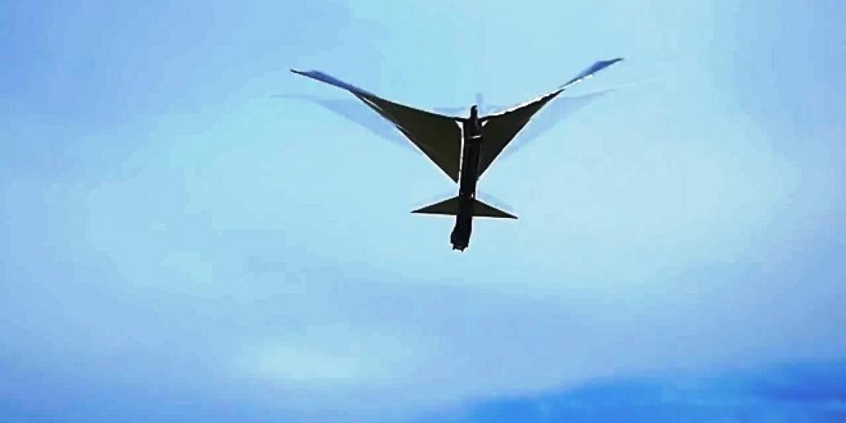 Conoce a Robo Raven: El primer robot pájaro que vuela realmente como ave