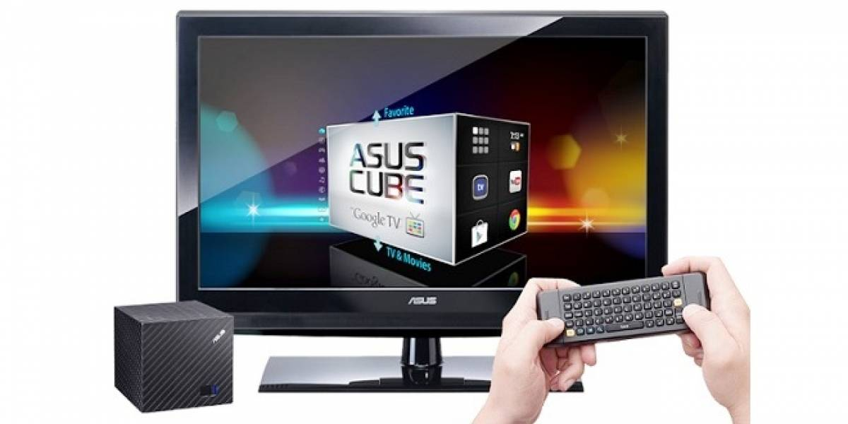 Asus lanza su dispositivo CUBE, de internet streaming con Google TV