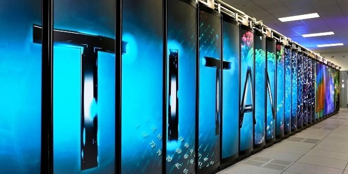 Supercomputador Titan posee el almacenamiento más veloz del mundo