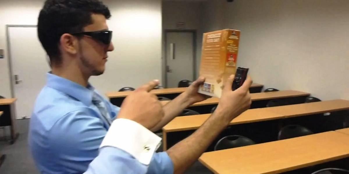 Eye Talk: Anteojos que leen para los ciegos