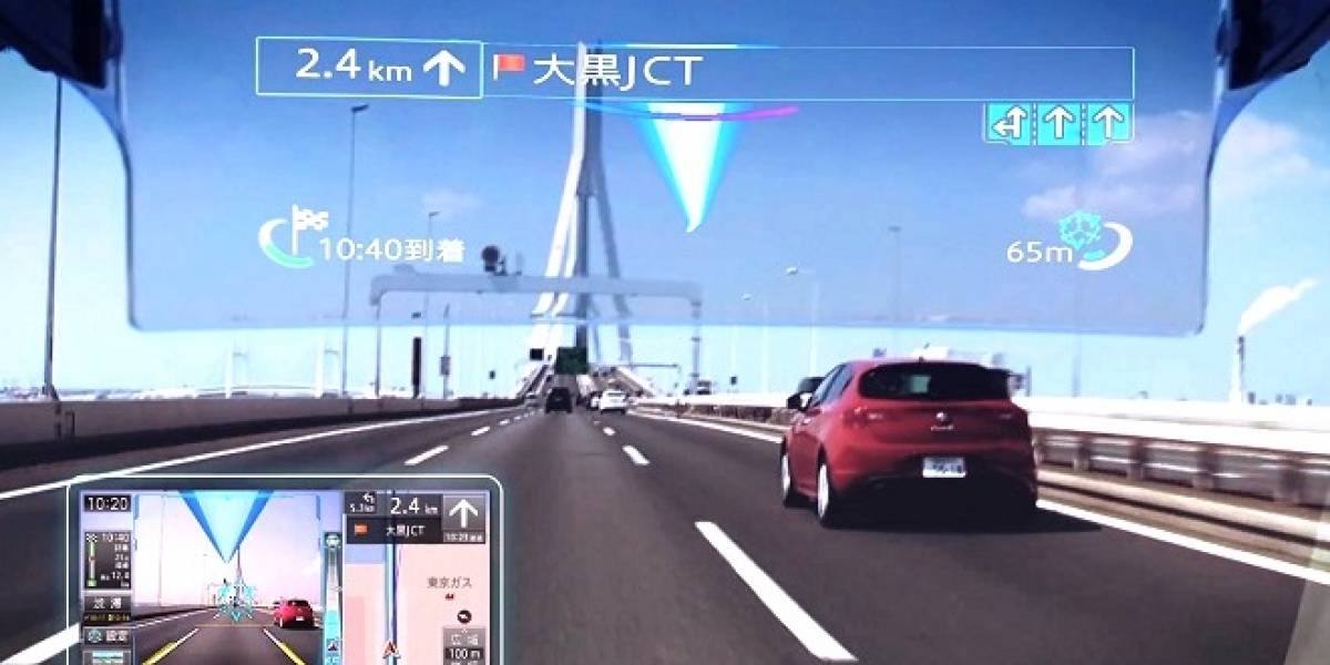 Cyber Navi: Un nuevo y potente sistema de navegación con realidad aumentada