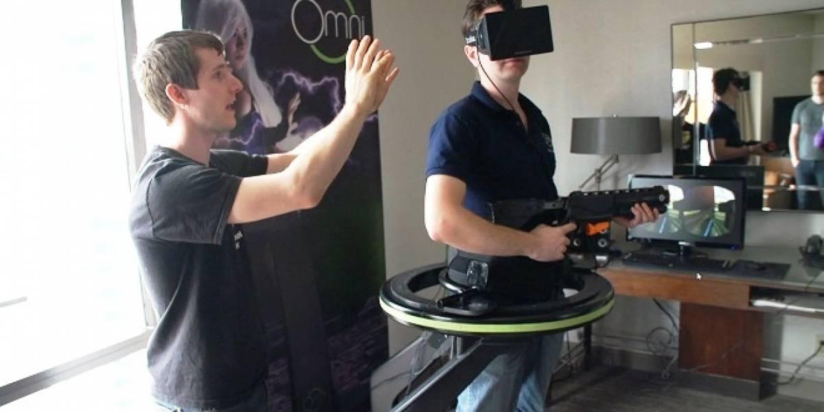 El simulador para videojuegos Virtuix Omni, fue lanzado oficialmente como proyecto Kickstarter