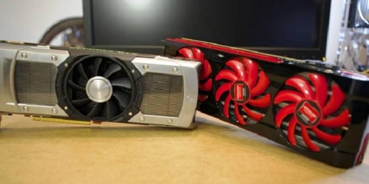 Duelo de benchmarking entre una Radeon HD 7990 y una GeForce GTX 690