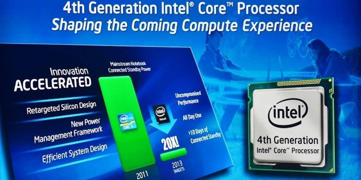 Intel Core i7 4770K Haswell overclockeado a 5GHz a 0.9V