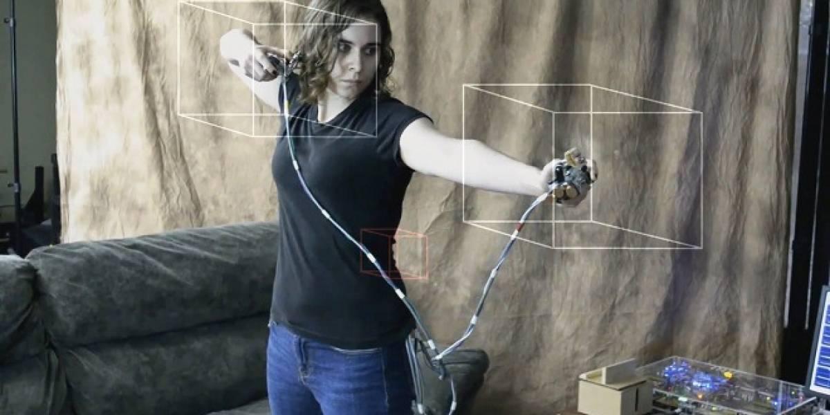 Construyen mando de juego similar al Playstation Move más el Dualshock 3