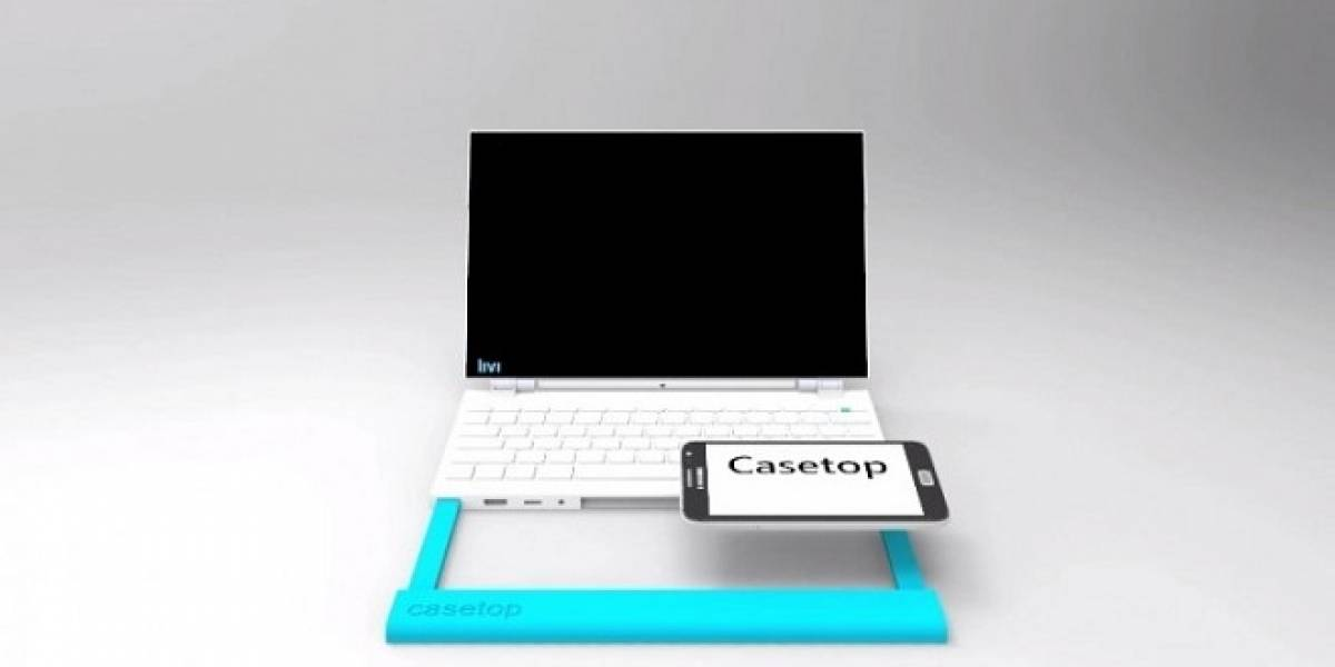 Casetop: Convierte tu smartphone en una laptop