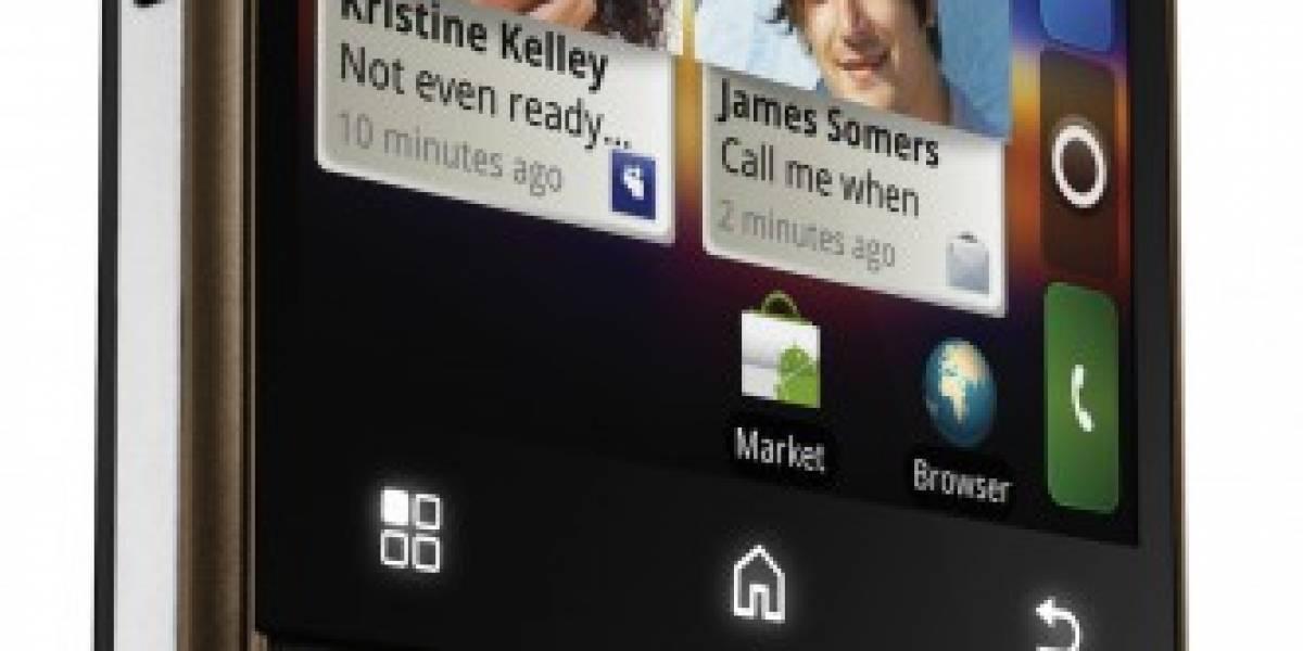El nuevo Motorola CHARM es táctil por los dos lados