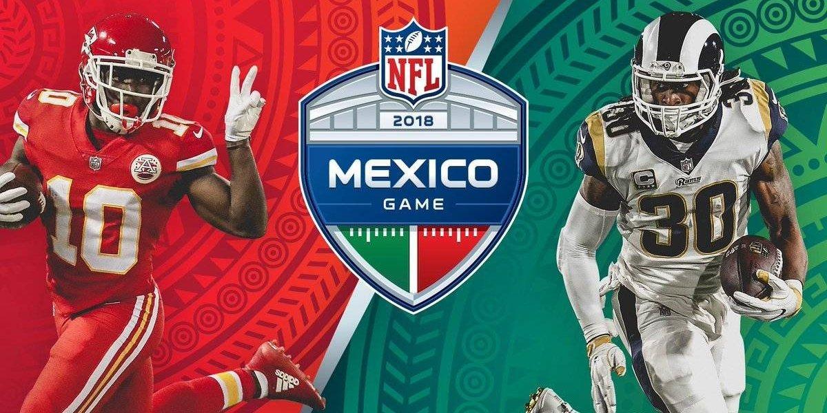 OFICIAL: Rams y Chiefs jugarán en el Azteca