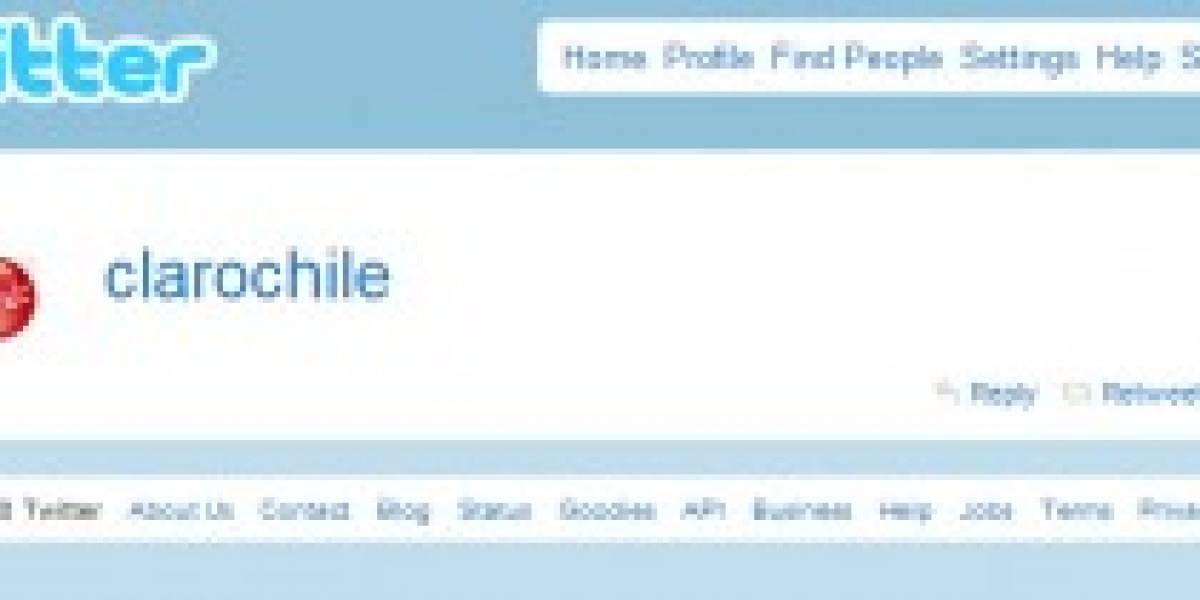 Chile: Claro integra sistema para recibir tweets en tu móvil