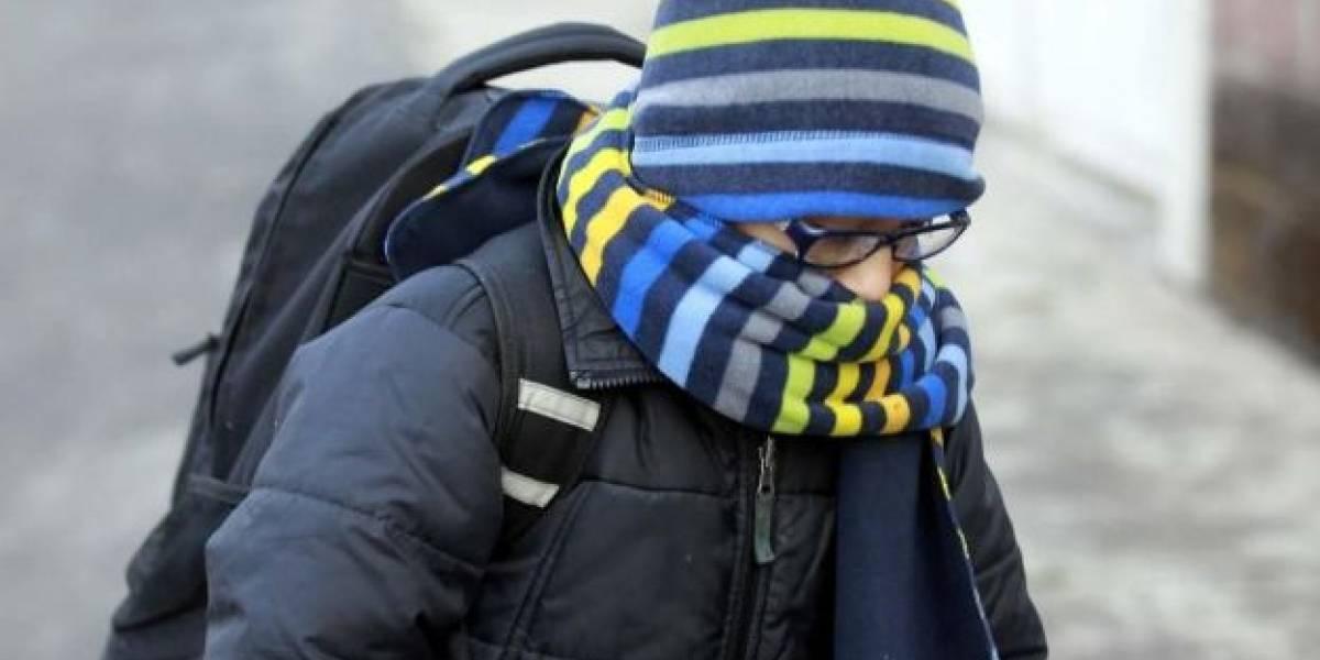 SEP suspende clases en cinco delegaciones por frío