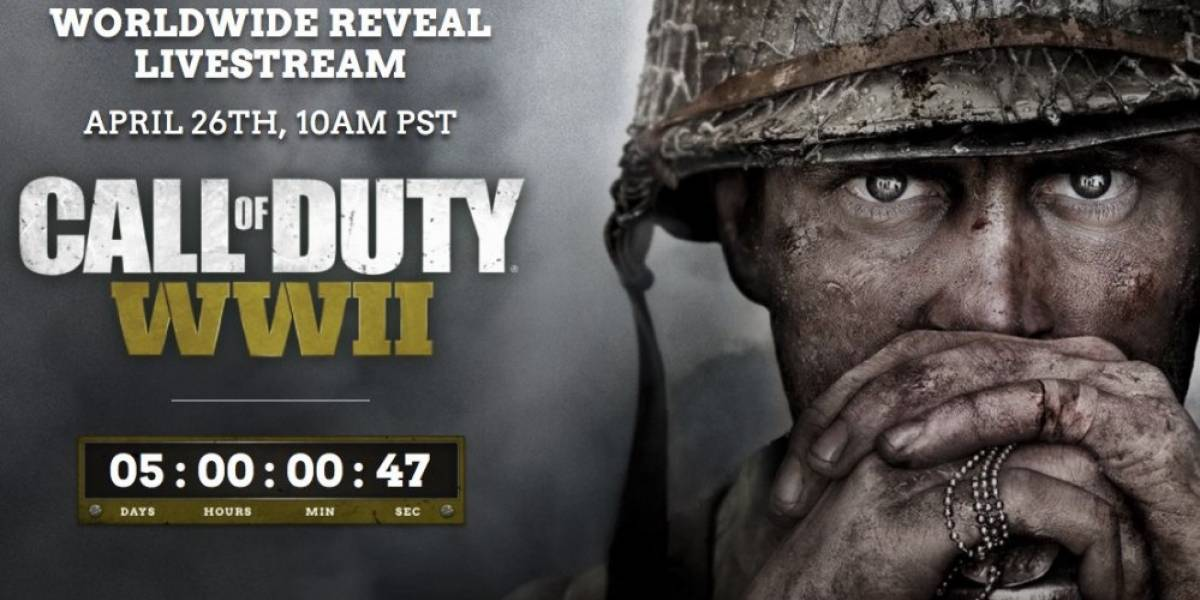 El nuevo Call of Duty WWII se revelará la próxima semana