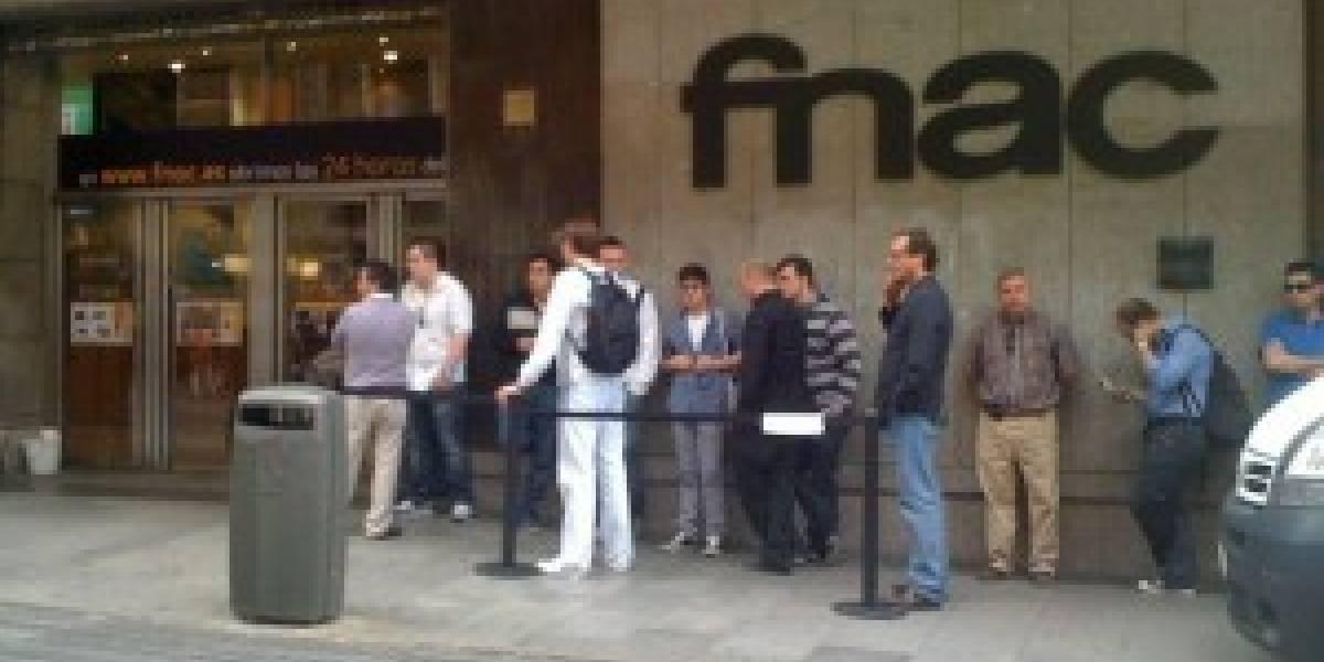 En España, se vendió en 90 minutos todo el stock de iPad 3G