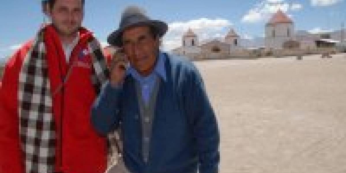Chile: pueblos del Norte Grande reciben por primera vez señal de móviles
