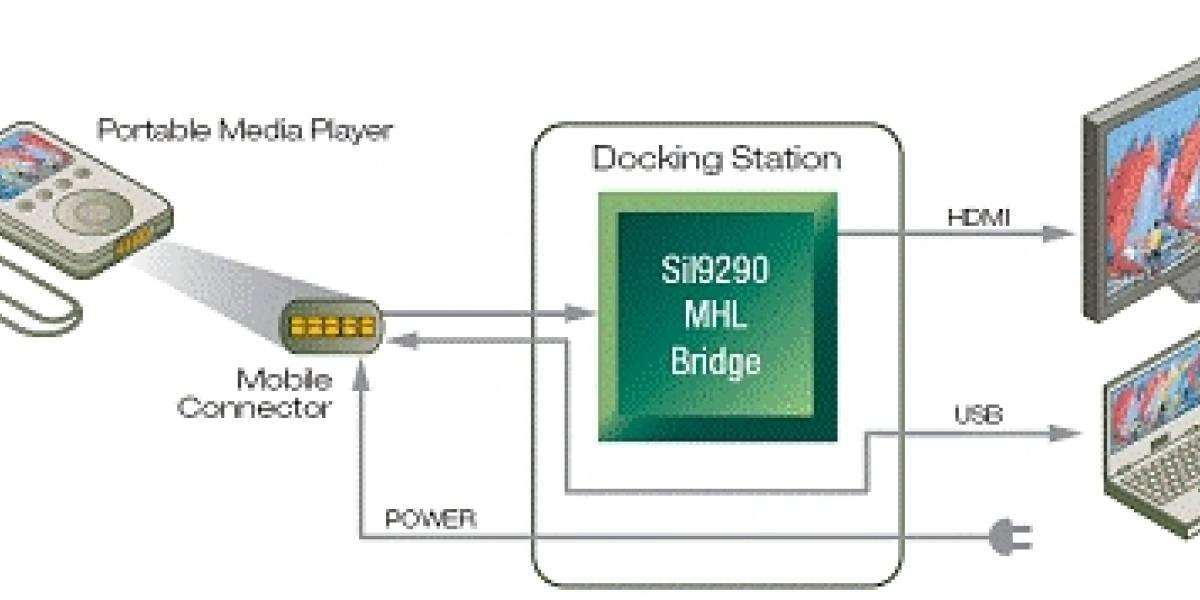 Compañías se unen para crear un conector HD estándar para celulares