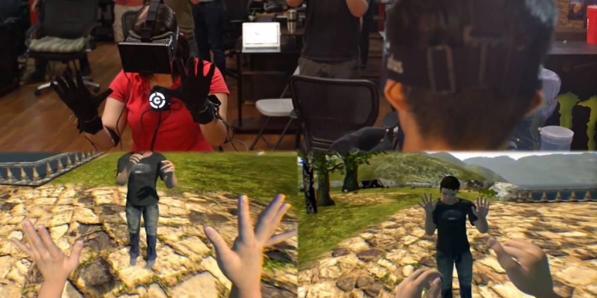 Control VR: Guantes de realidad virtual para control preciso en mundos virtuales