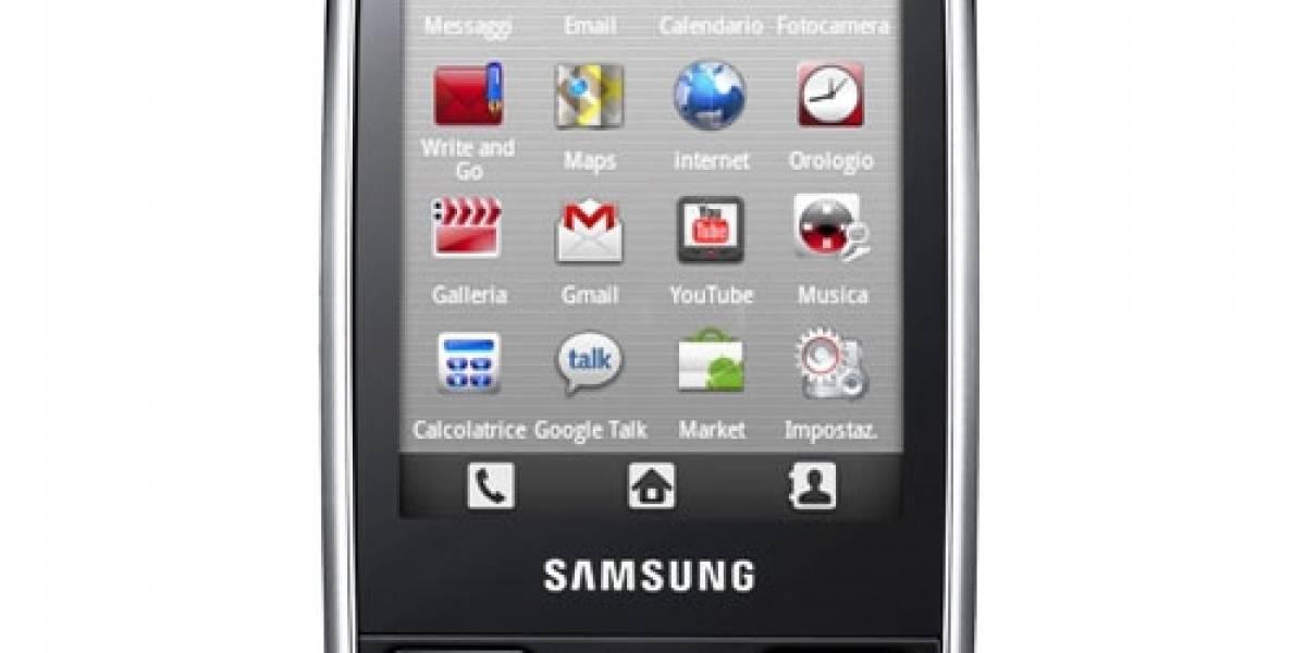 Samsung Corby i5500, el primer Corby con Android