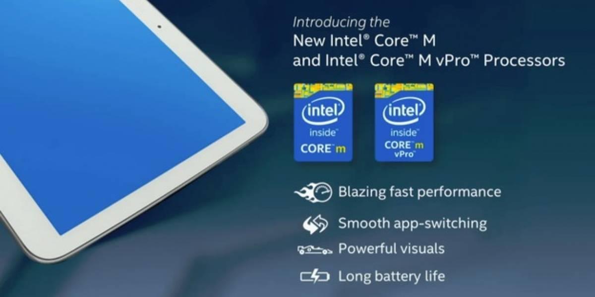 2-en-1 basados en Core M Series tendrán disponibilidad limitada a fines de año