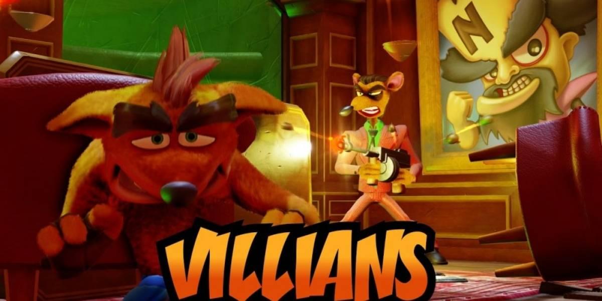 Nuevo tráiler de Crash Bandicoot N.Sane Trilogy nos presenta a sus villanos