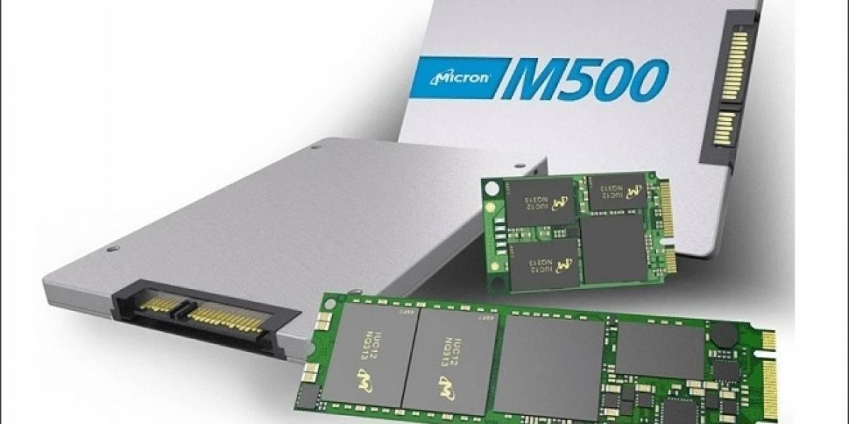 Crucial lanza su nueva unidad SSD M500 960GB