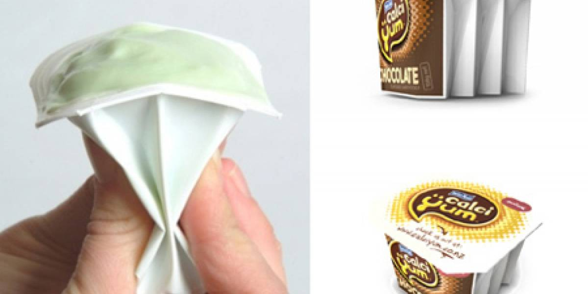 CrushPak: Otra forma de comer Yogurt