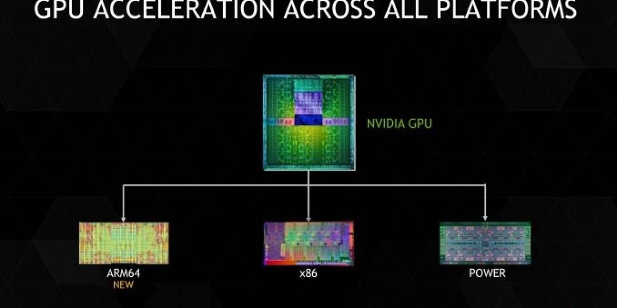 NVIDIA lanza CUDA 6.5 con soporte a servidores ARM64
