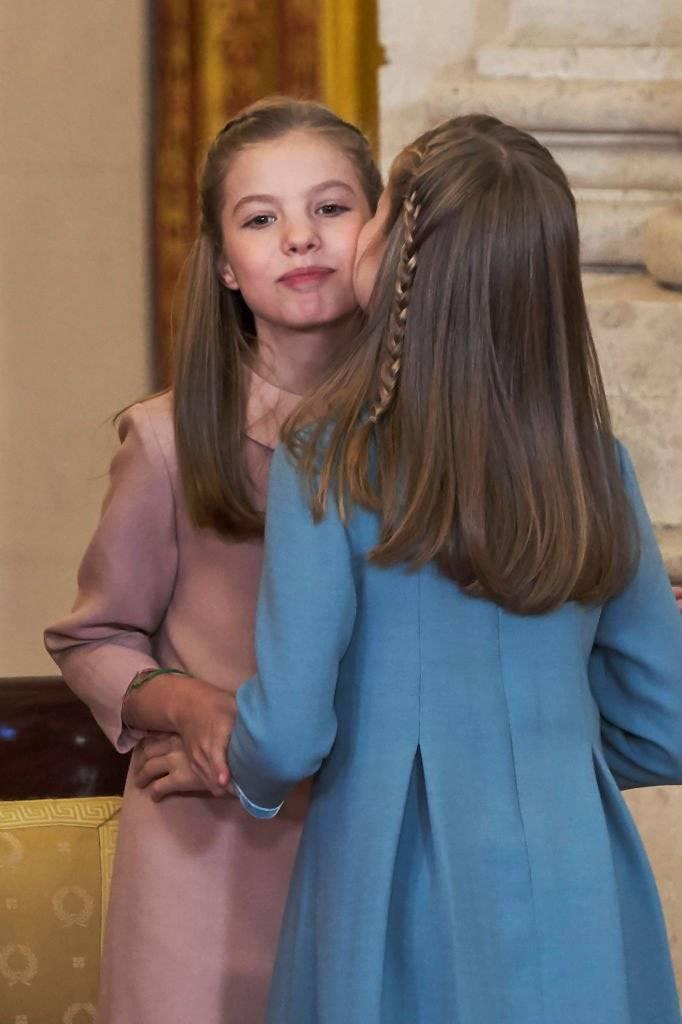 princesas Sofía e Leonor